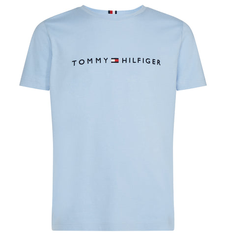 Tommy Logo Tee  Blue