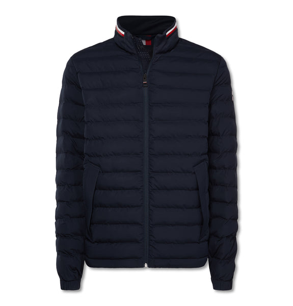 Stretch Quilted Jacket Dark Blue