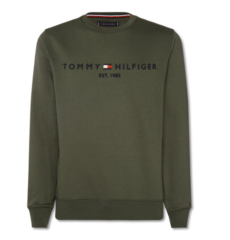 Tommy Logo Sweatshirt Green