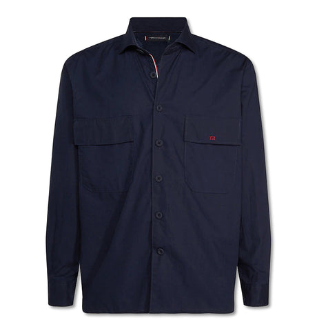 Tommy Tech Overshirt Navy