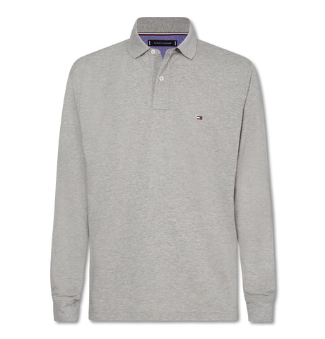 Tommy Regular Polo LS Grey