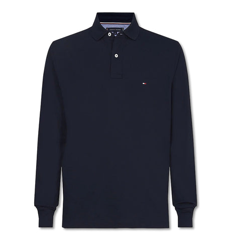 Tommy Regular Polo LS Navy