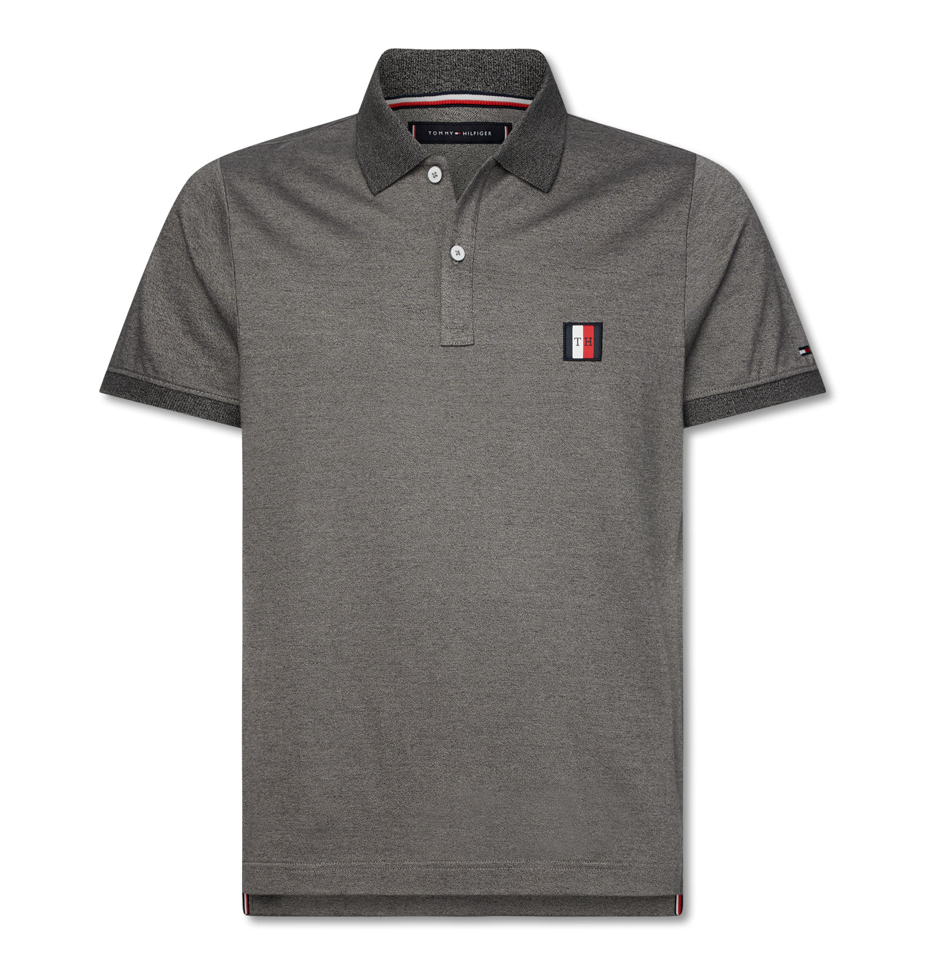 Image of   Flex Mouline Badge Slim Polo