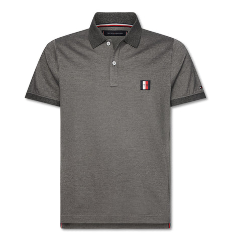 Flex Mouline Badge Slim Polo