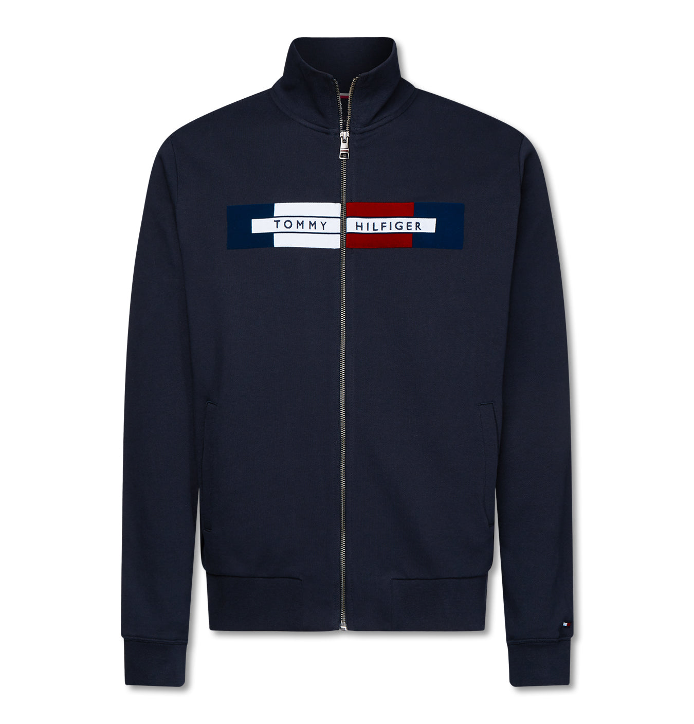 Image of   Flocked Hilfiger Zip Through