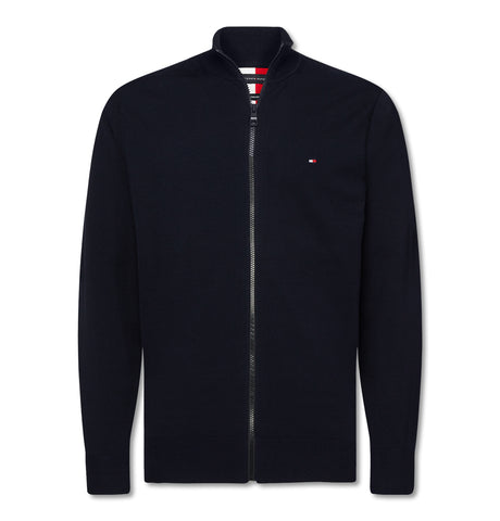 Tommy Hilfiger - Tommy Hilfiger Flex Zip Through Black