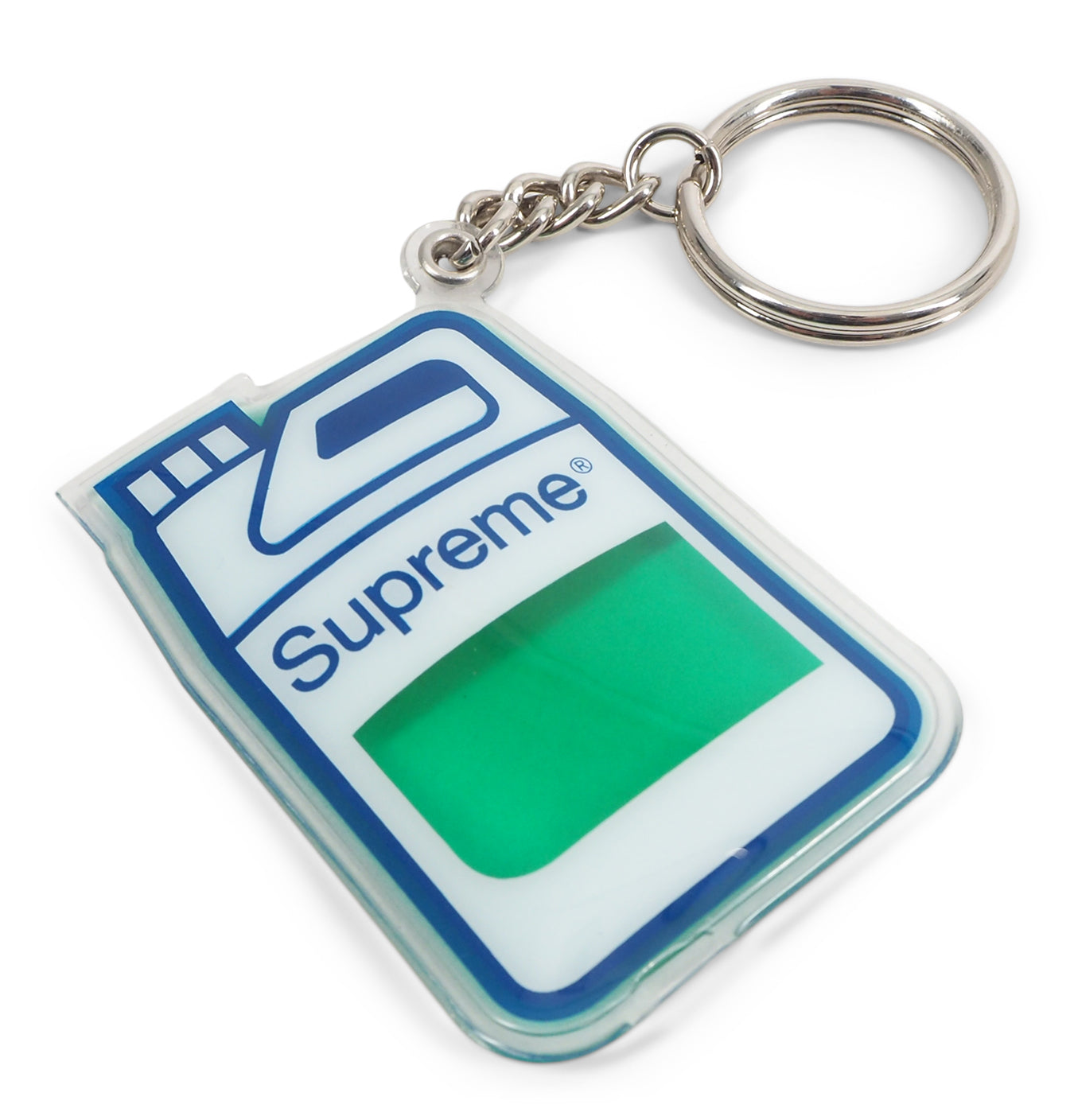 Image of   Supreme Jug Keychain Green