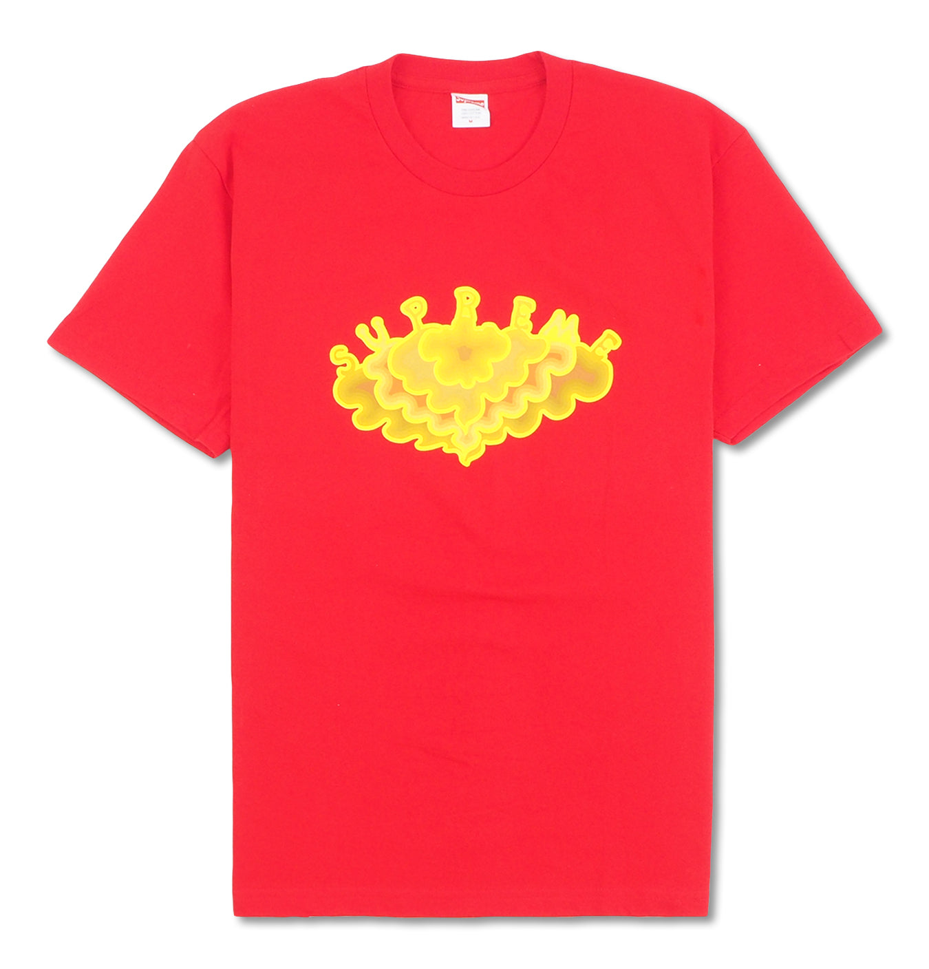 Image of   Supreme Cloud Tee Red