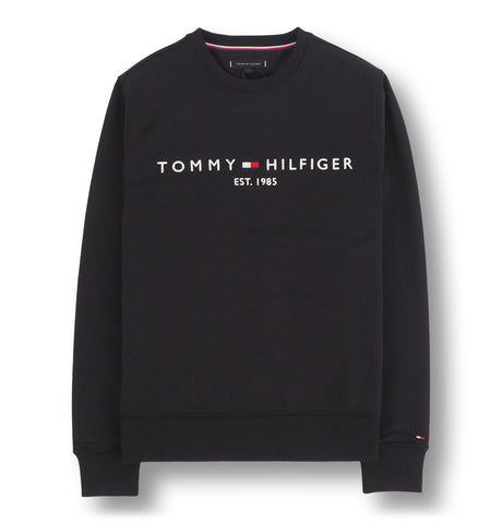 Tommy Logo Sweatshirt Black