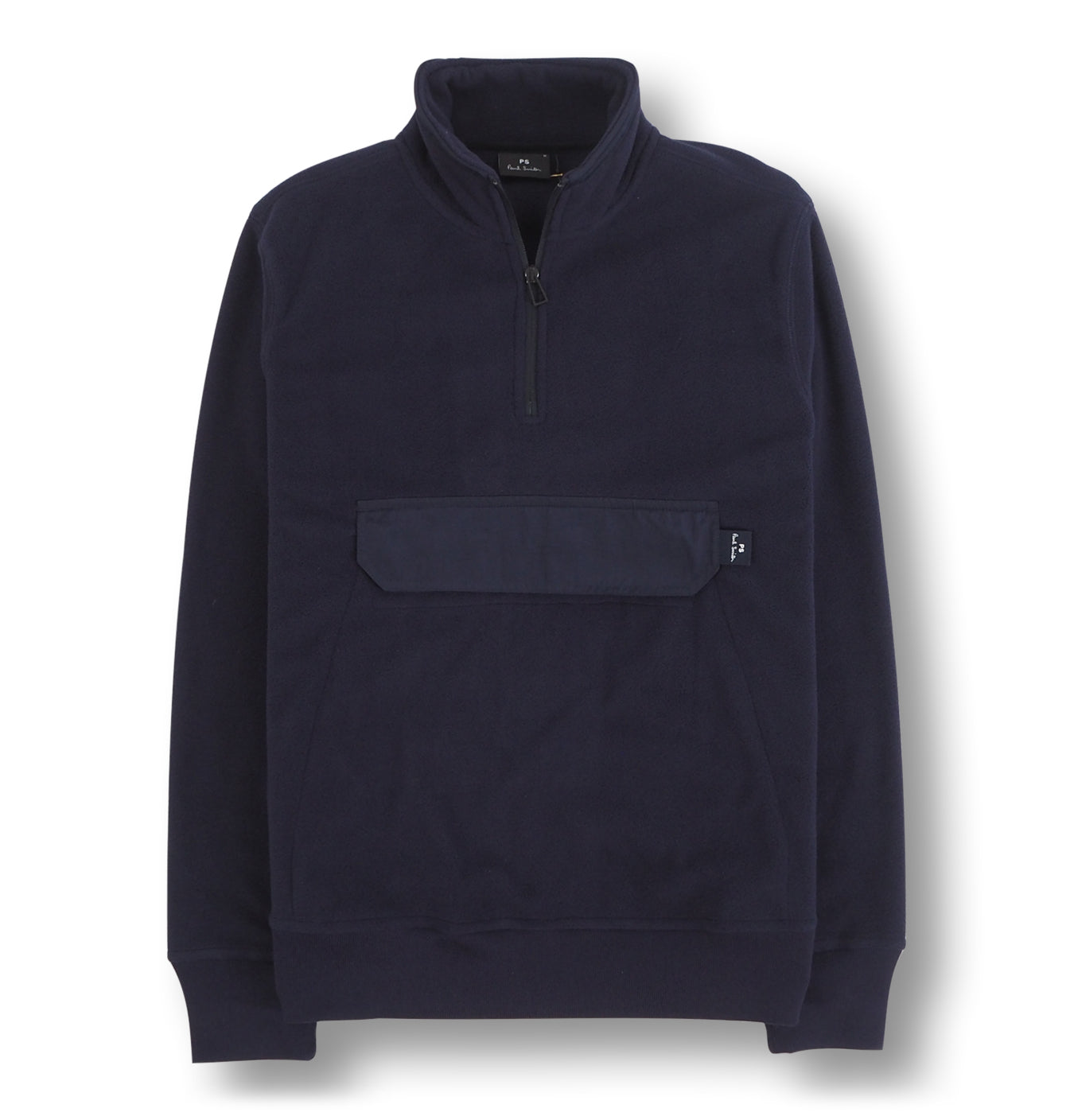 Image of   Mens 1/2 Zip Sweatshirt Blue