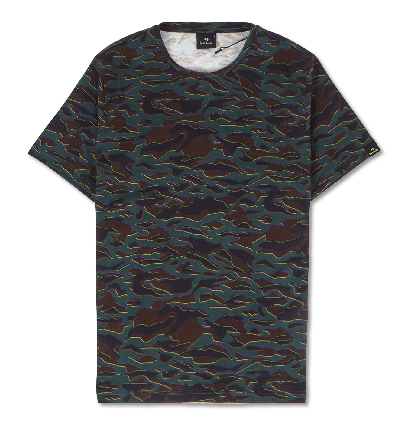 Image of   Colored Pattern Tee Multi