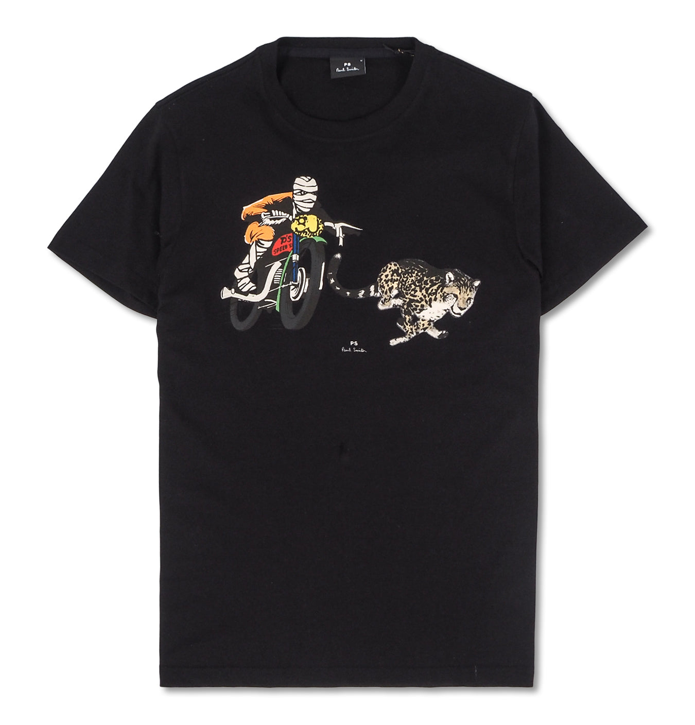 Image of   Cheeta Chase Tee Black