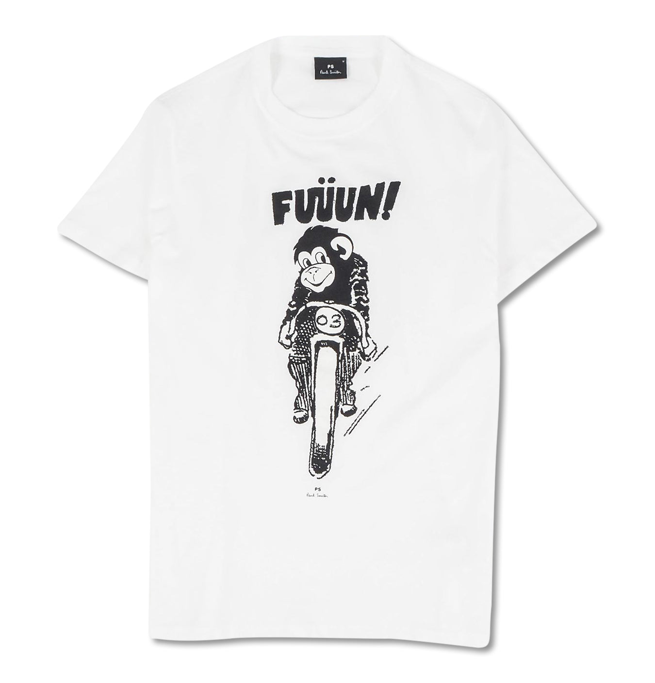 Image of   Bike-Monkey-Tee-White