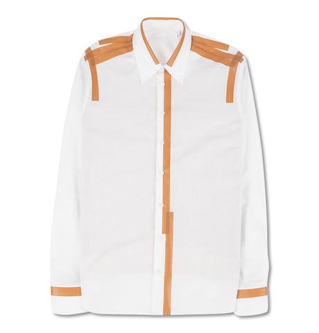 Helmut Lang - Taped Shirt White