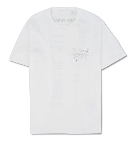 US Logo Tee Chalk White