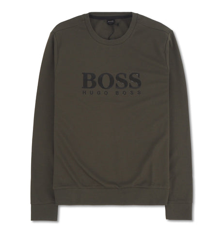 Boss Tracksuit Sweatshirt Green