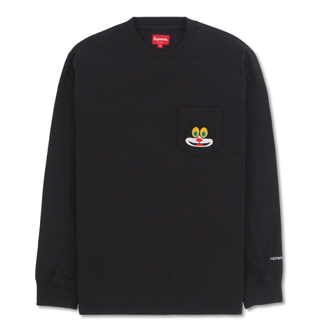 Supreme - Supreme Cat Pocket Tee Black