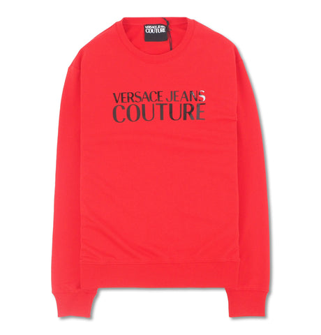 Versace Jeans Couture - Red Crewneck Logo Gloss