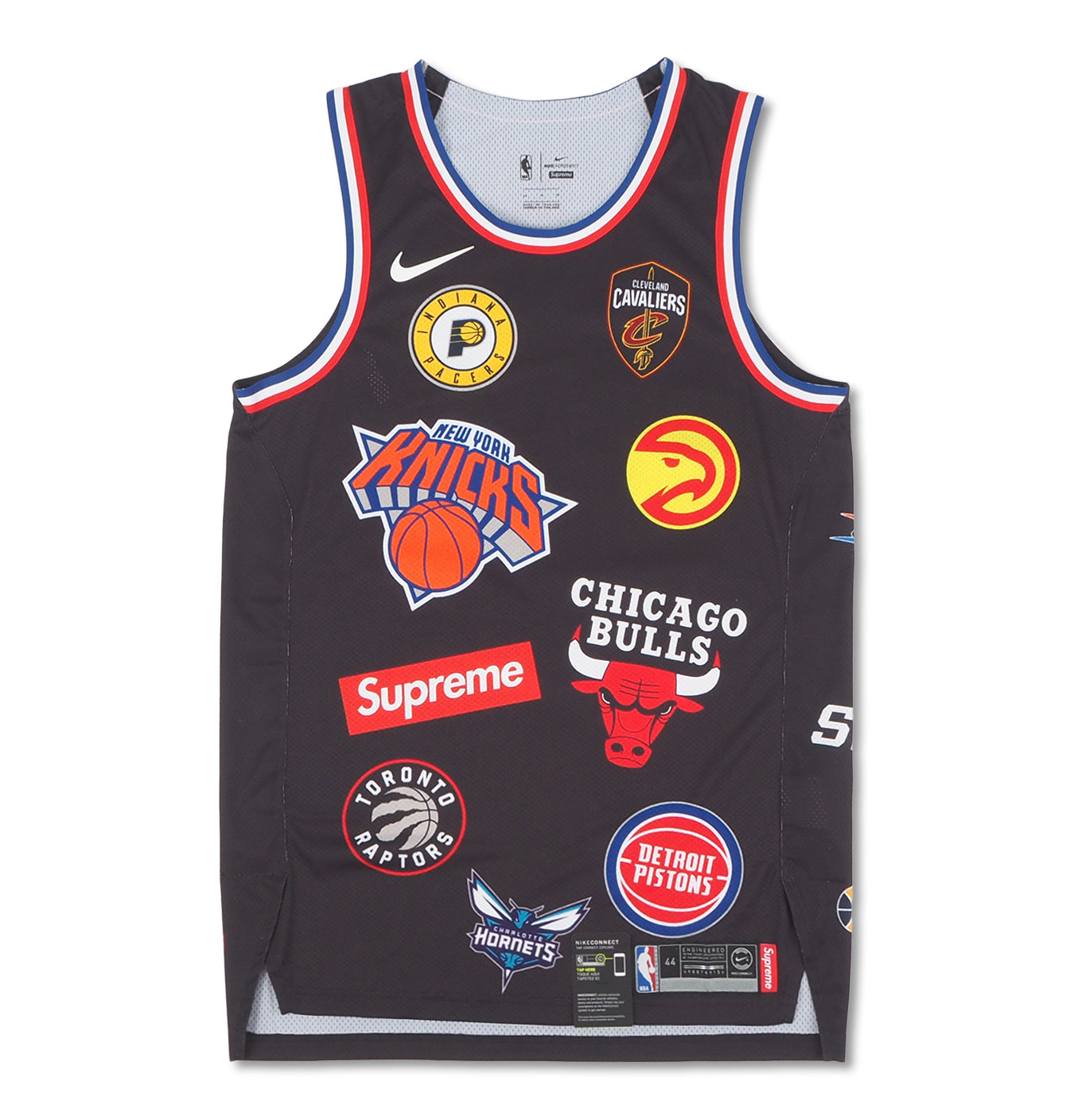 Image of   Supreme Nike/NBA Teams Authentic Jersey