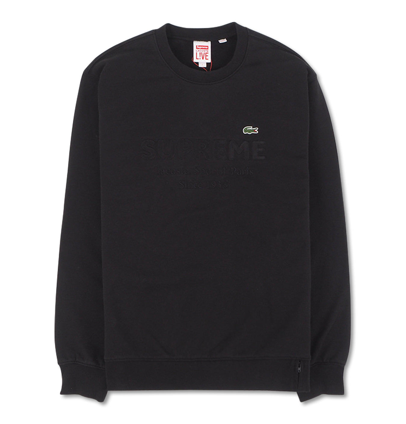 Image of   Supreme Lacoste Crewneck