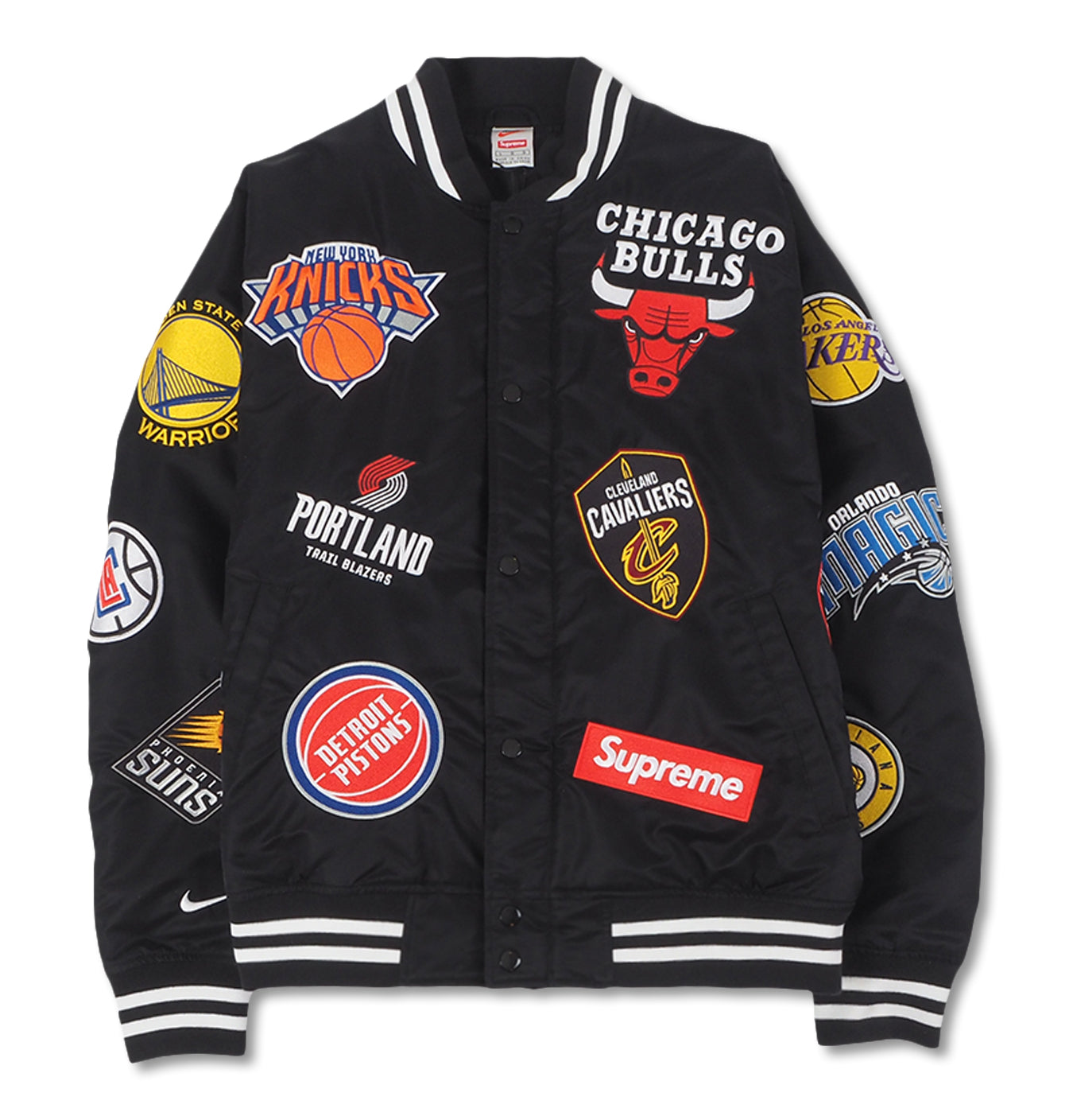 Image of   Supreme X Nike X NBA Teams Warm-Up Jacket