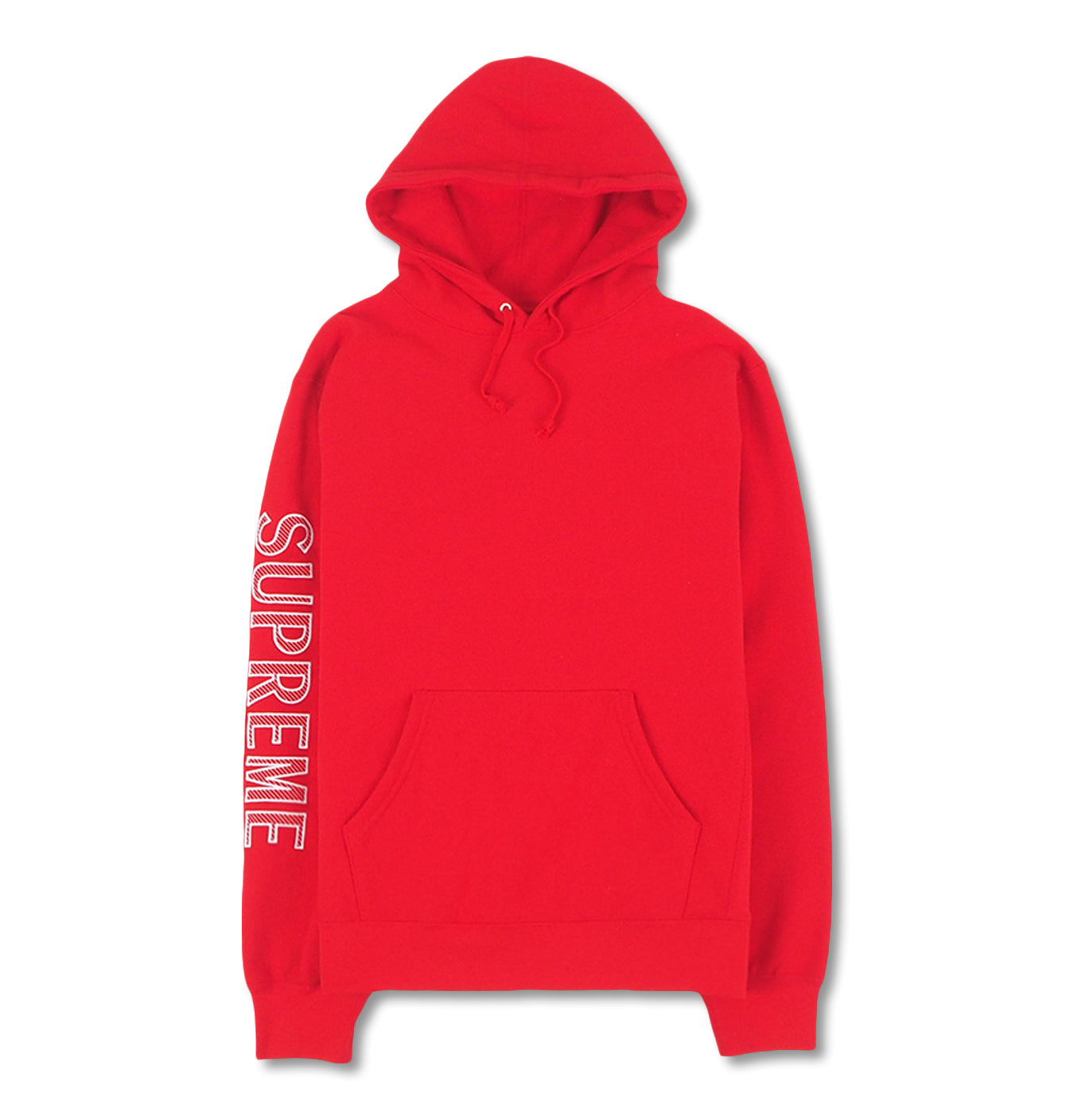 Image of   Supreme Sleeve Embroidery Hoodie Sweatshirt