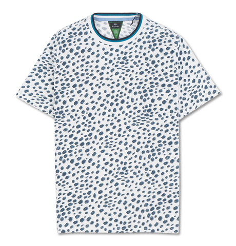 Mens Reg Fit Dotted T-Shirt