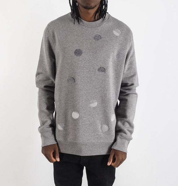 Dotted Sweatshirt Grey