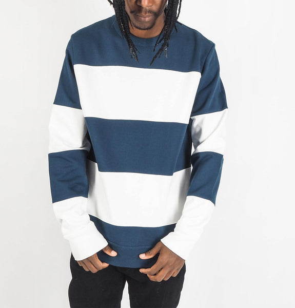 PS Paul Smith - White Patch Sweatshirt Blue