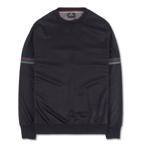 Paul Smith Sweatshirt Stripe Detail Black