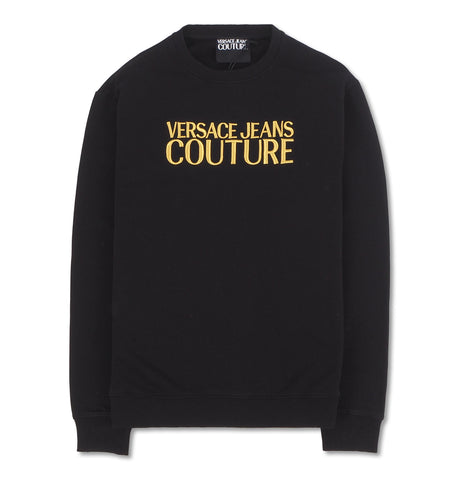 Versace Jeans Couture - Felpa Cotton Logo Embro