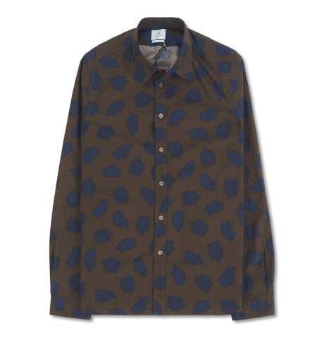 PS Paul Smith - Turtle Shirt Green