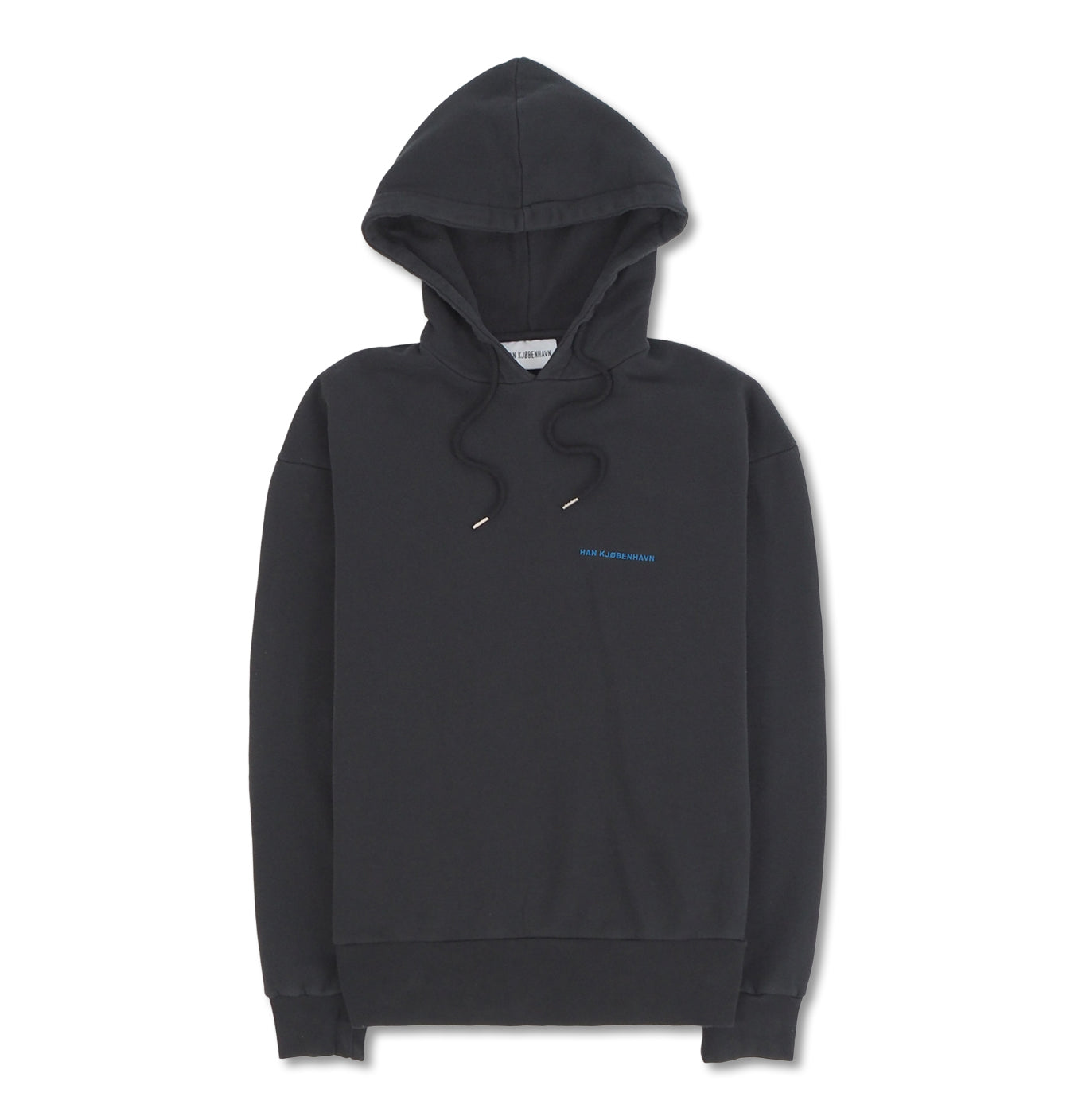 Image of   Bulky Hoodie Blue Logo
