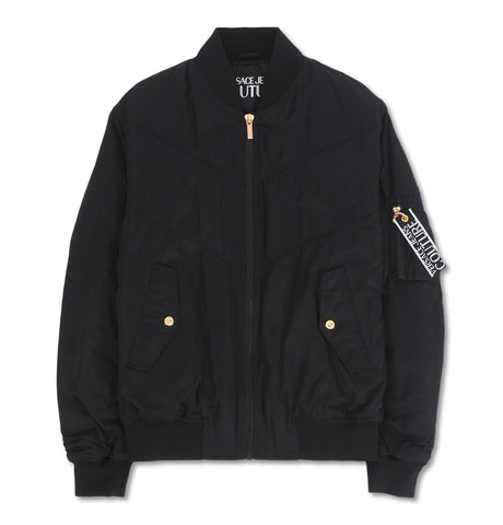 Poly Bomber Jacket Couture