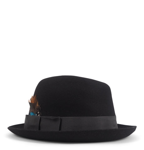 Paul Smith - Ment Hat Kent Trilby Black