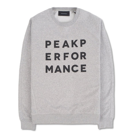 Peak Performance Sweatshirt Grey SS19
