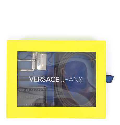 Versace Jeans - Belt and Buckle Kit Black