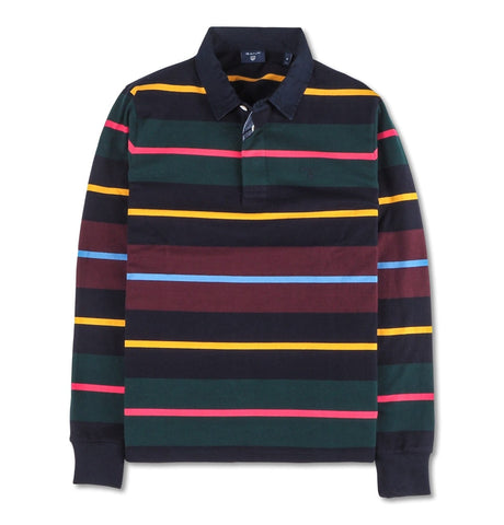 Multi Stripe Heavy Rugger