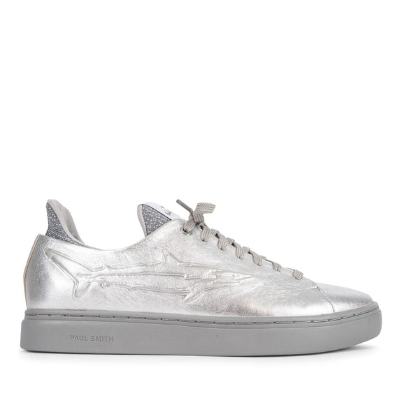 Mens Shoe Sonix Silver Shark