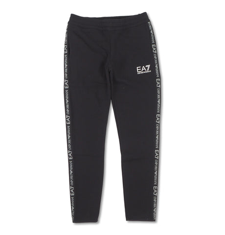 Taped Trackpants Black