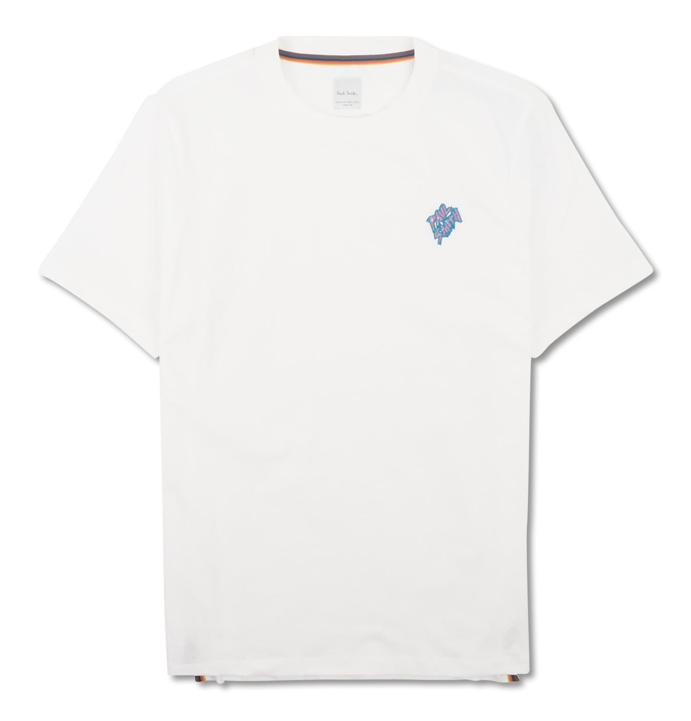 T-Shirt Embroided Logo White