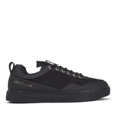 Mesh and Rubber Sneakers Black