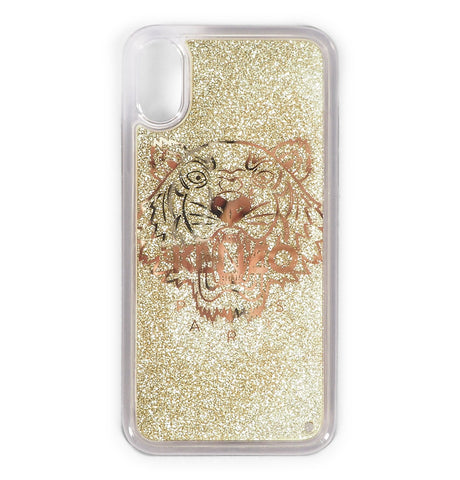 Gold Kenzo Iphone Cover