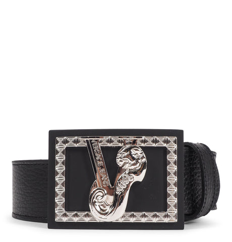 Bottalato Leather Belt Black