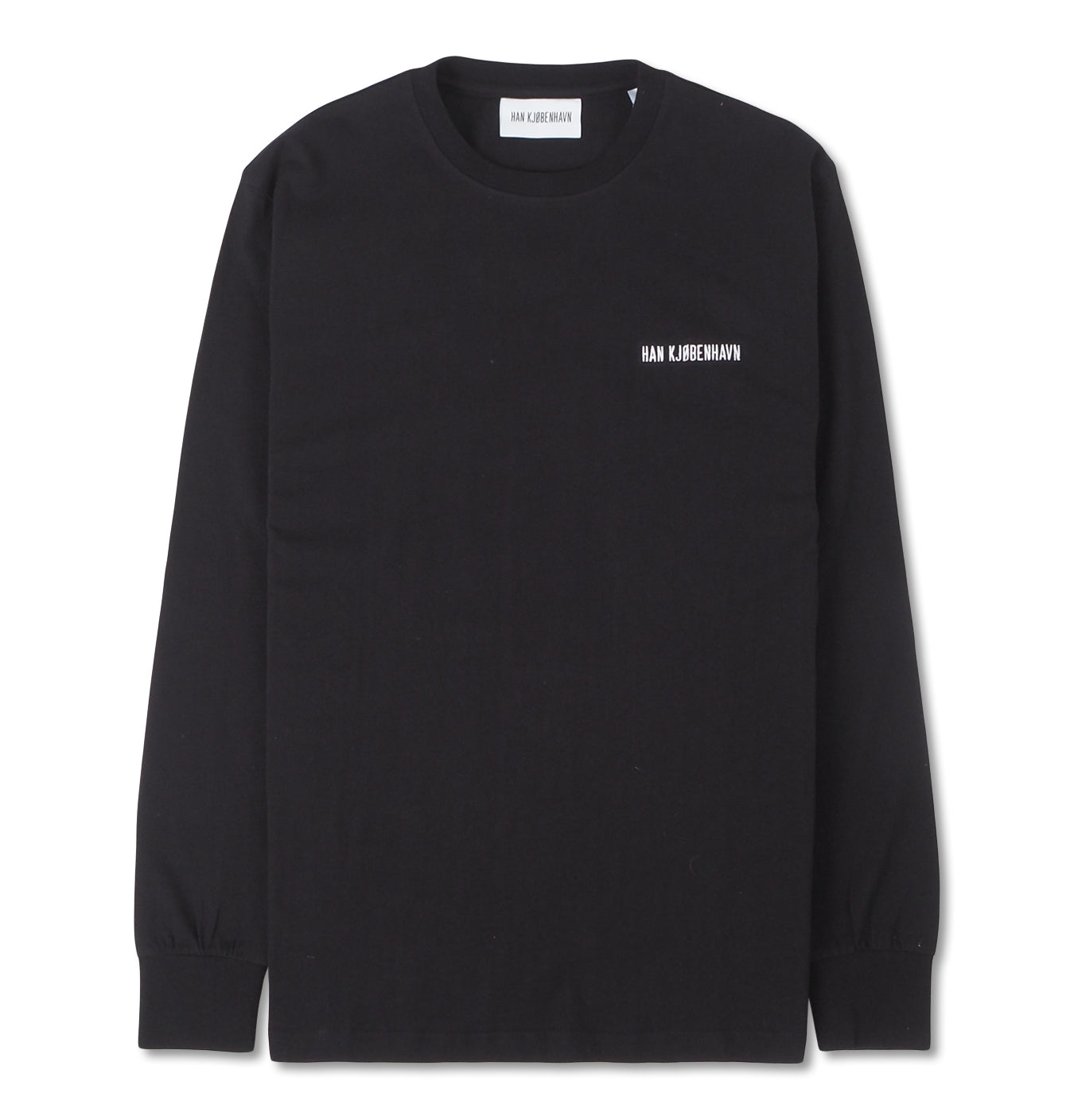 Image of   Casual Long Sleeve Tee Black