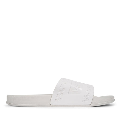 Versace Jeans Couture - Coated Rubber Sandals White