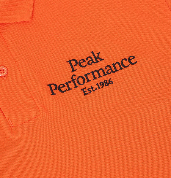 Peak Performance - Original Pique Polo Orange