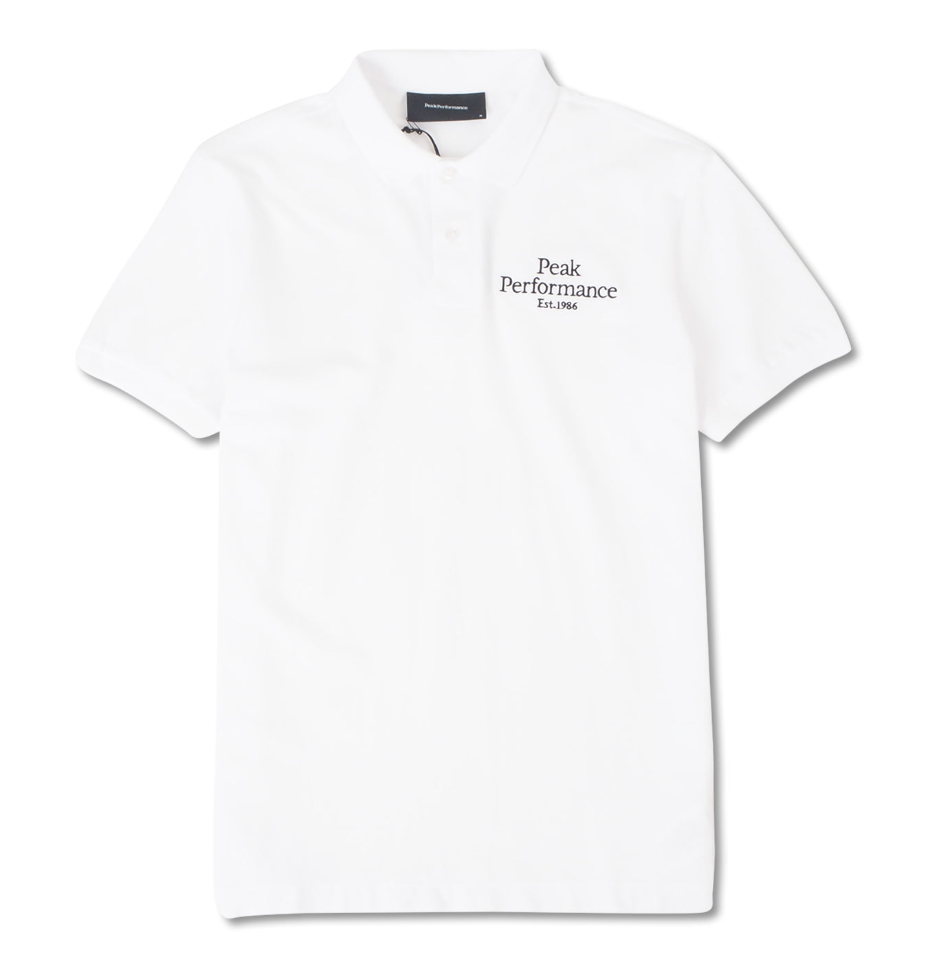 Image of   Original Pique Polo White