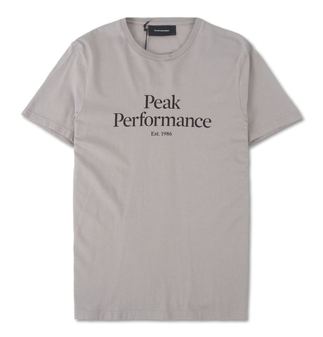 Peak Performance - Original Tee Grey
