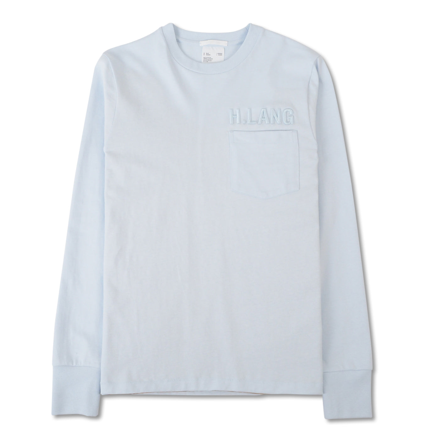 Image of   Long Sleeve Tee Glacier Blue